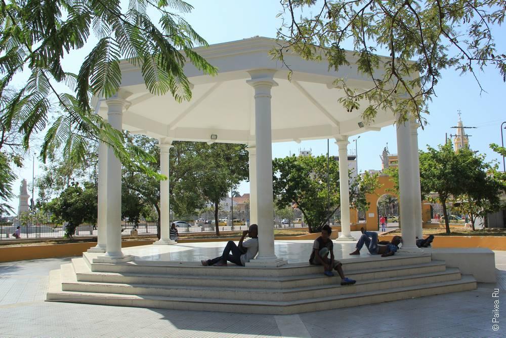 Беседка в парке Картахены