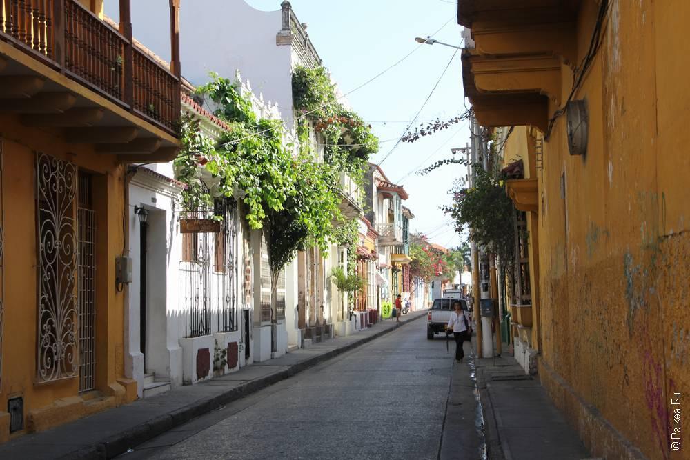 Экскурсия по улицам Картахены