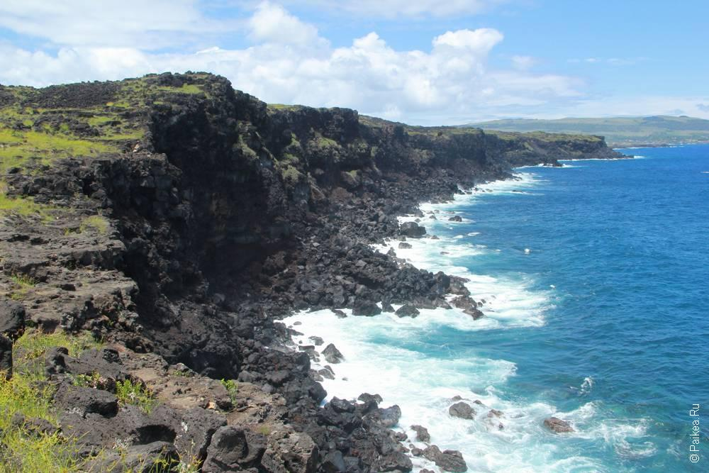 остров пасхи океан