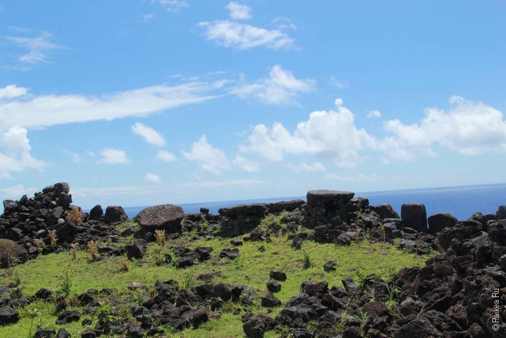 остров пасхи аху Те Пеу
