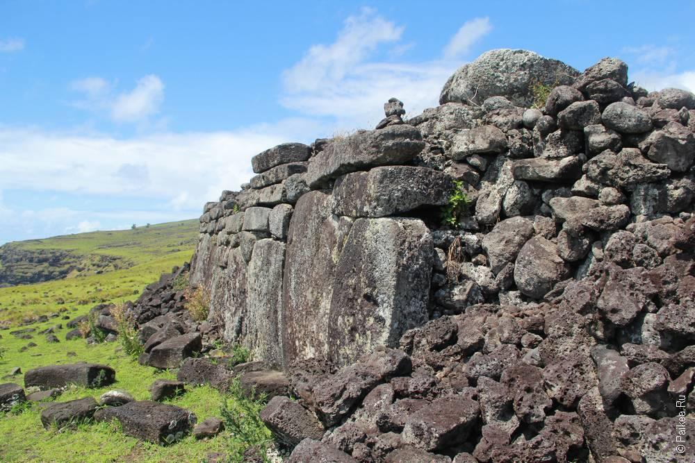 остров пасхи древняя платформа