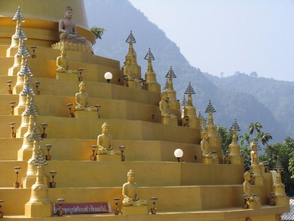 Затерянный храм на границе Таиланда и Мьянмы