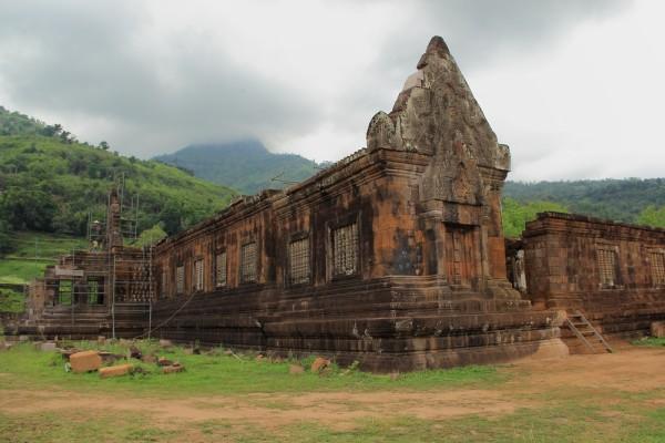Кхмерский храм Ват Пу