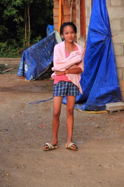 Лаосская красавица