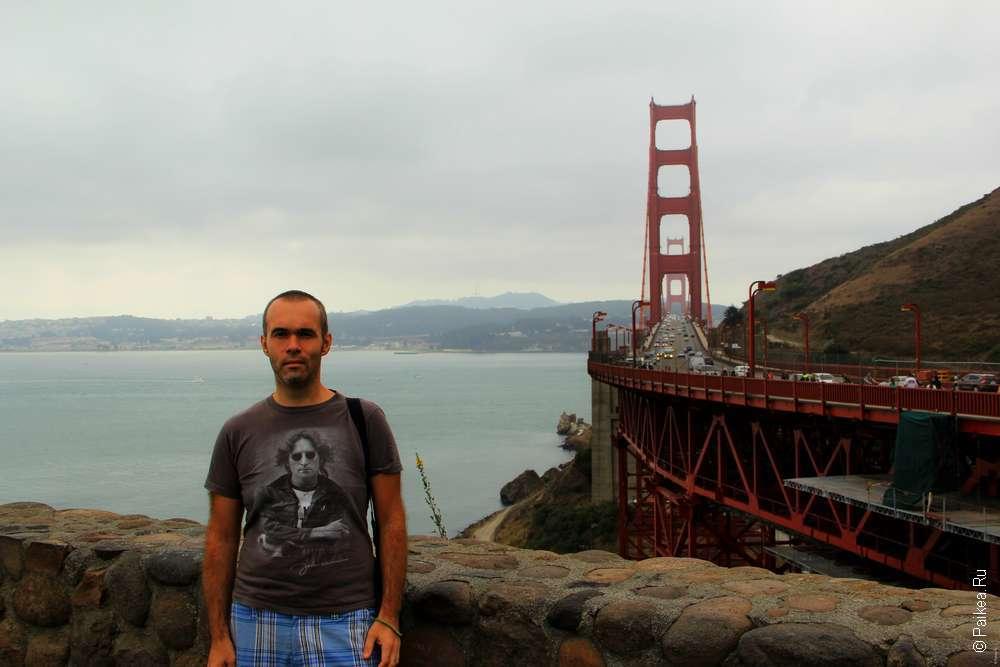 Мост Золотые ворота - символ Сан-Франциско