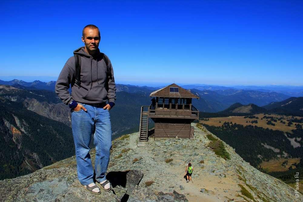 У вулкана Рейнир в штате Вашингтон