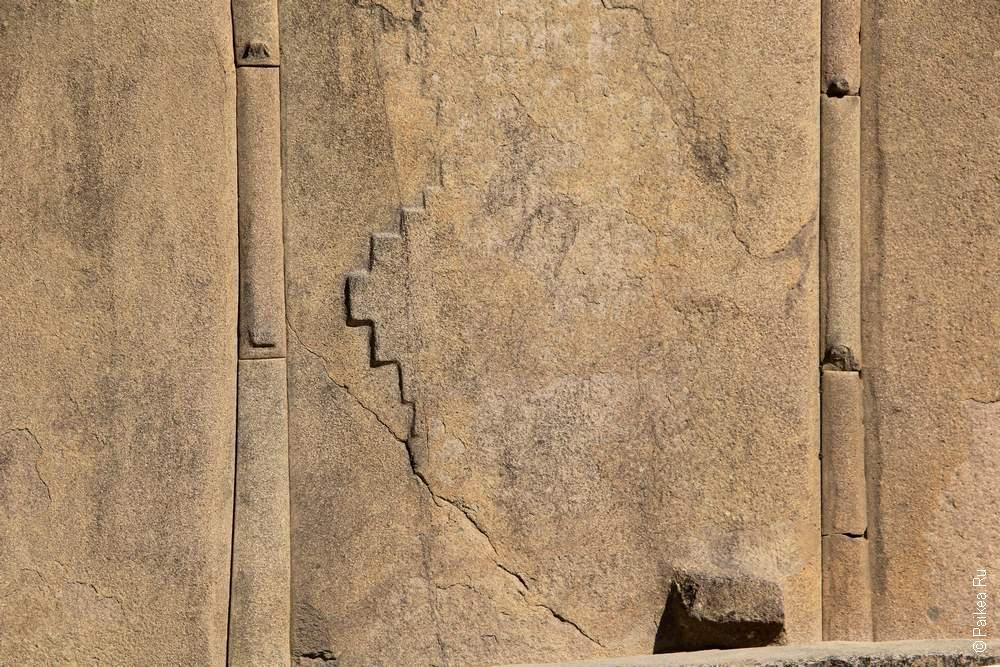 Камни из Ольянтайтамбо не подчиняются логике официальной версии истории