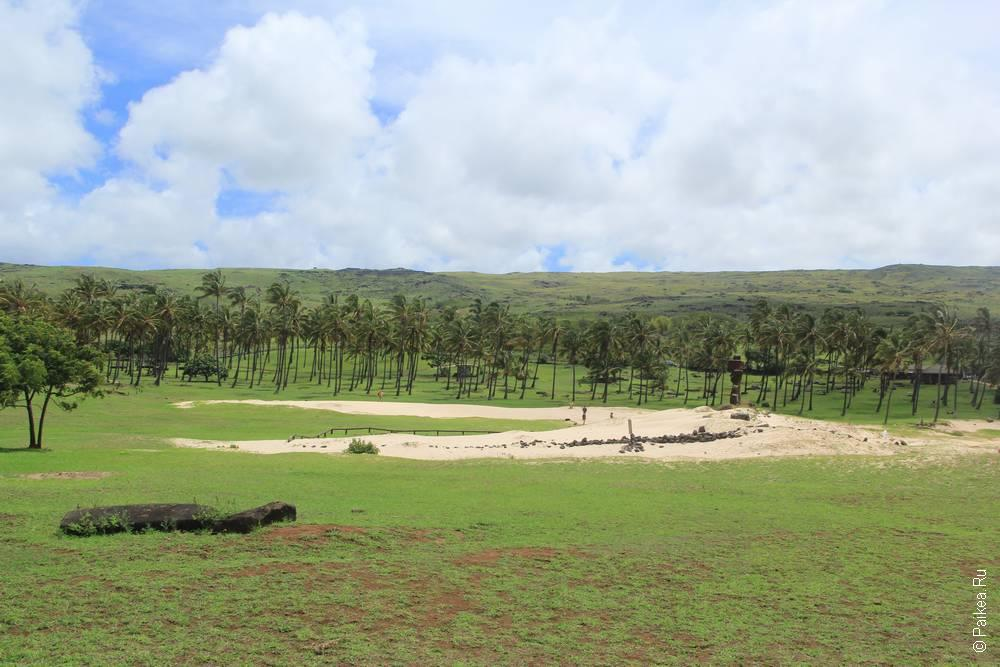 Анакена, Остров Пасхи (Anakena, Easter island)