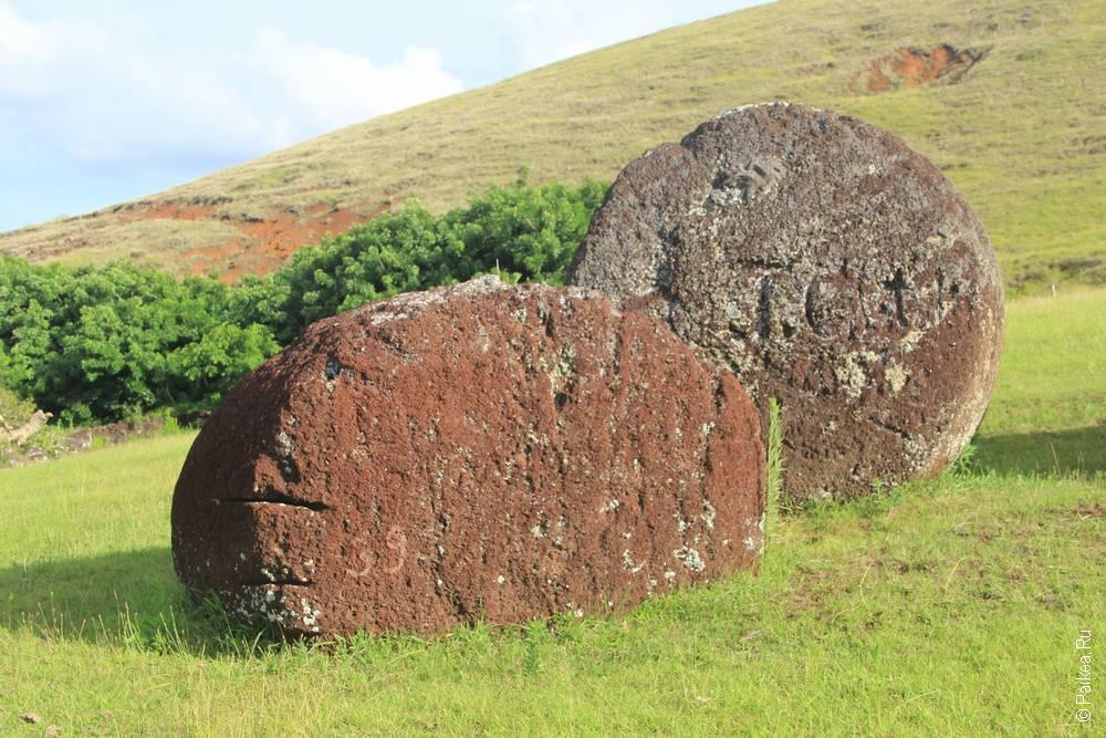 Пуна Пау, Остров Пасхи (Puna Pau, Easter island)