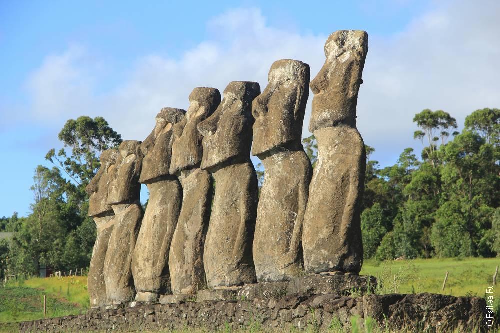 Аху Акиви, Остров Пасхи (Ahu Akivi, Easter island)