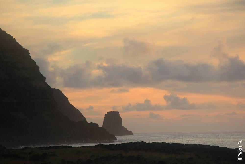 Туманный предрассветный Тонгарики