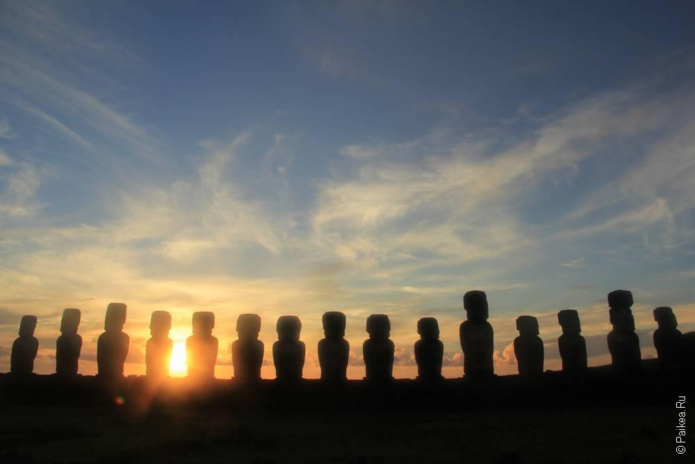 истуканы Тонгарики Остров Пасхи