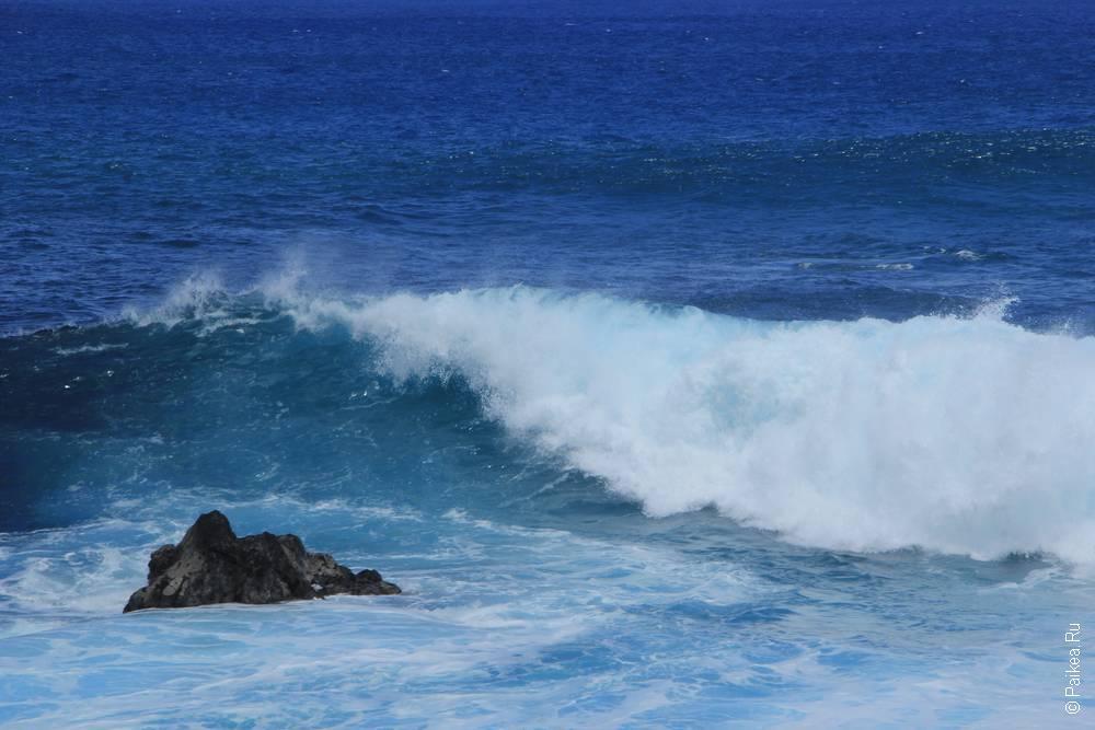 Бурный Тихий океан