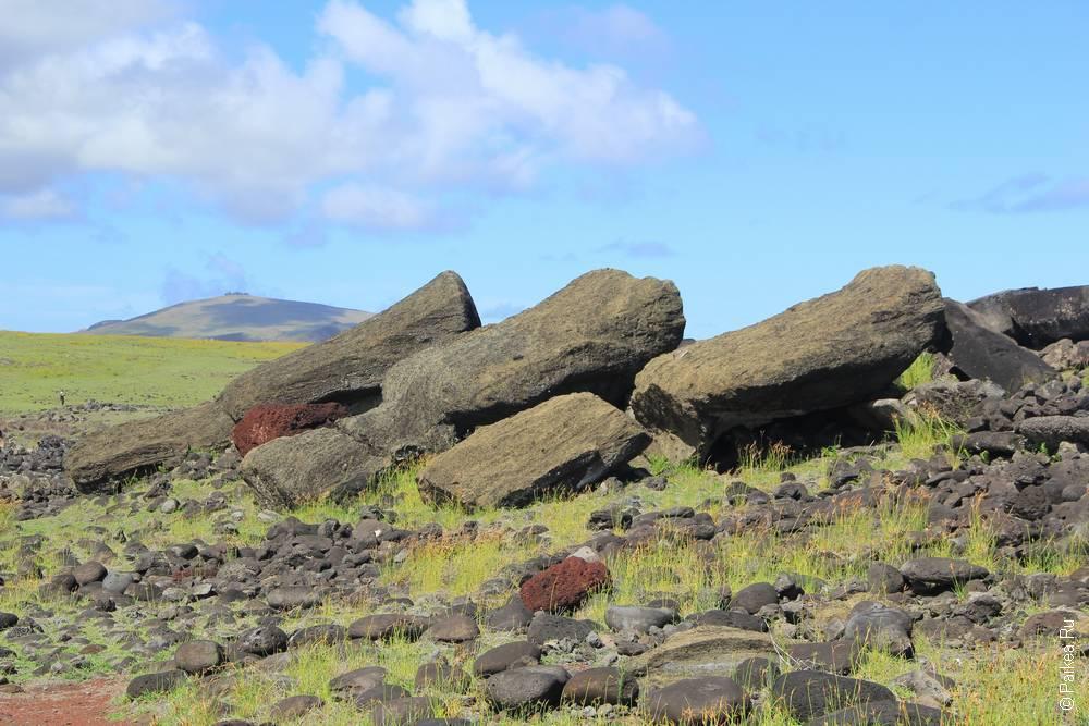 Аху Акаханга, Остров Пасхи (Ahu Akahanga, Easter island)