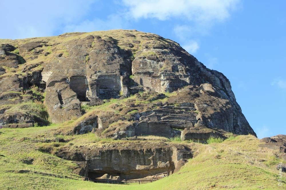 Каменоломня. Туристов пускают только в нижнюю