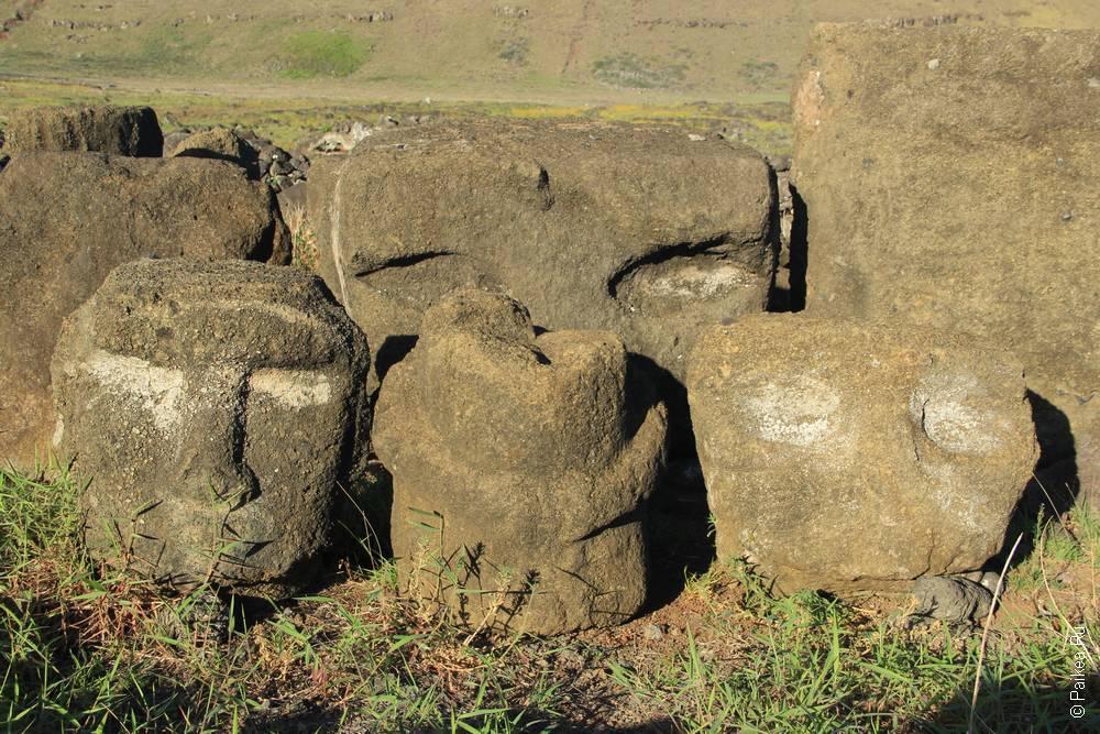Отвергнутые моаи