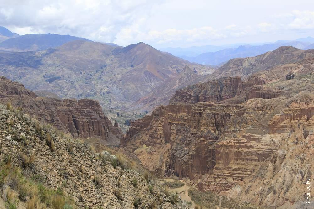 Долина Духов, Боливия
