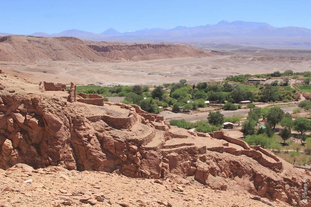 Руины инкского поселения Пукара-де-Китор