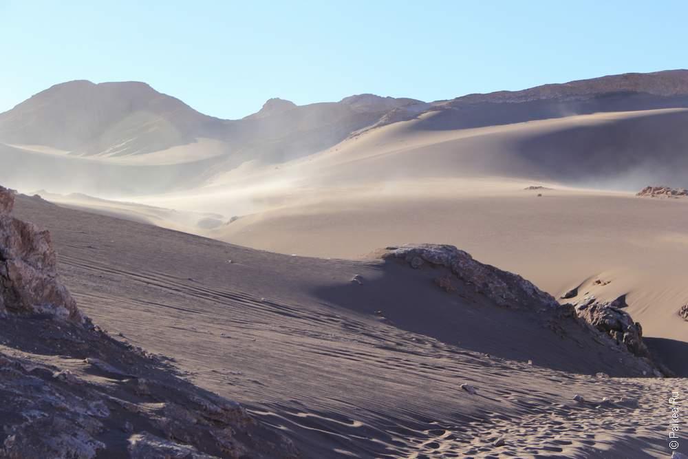 Пески надвигаются!
