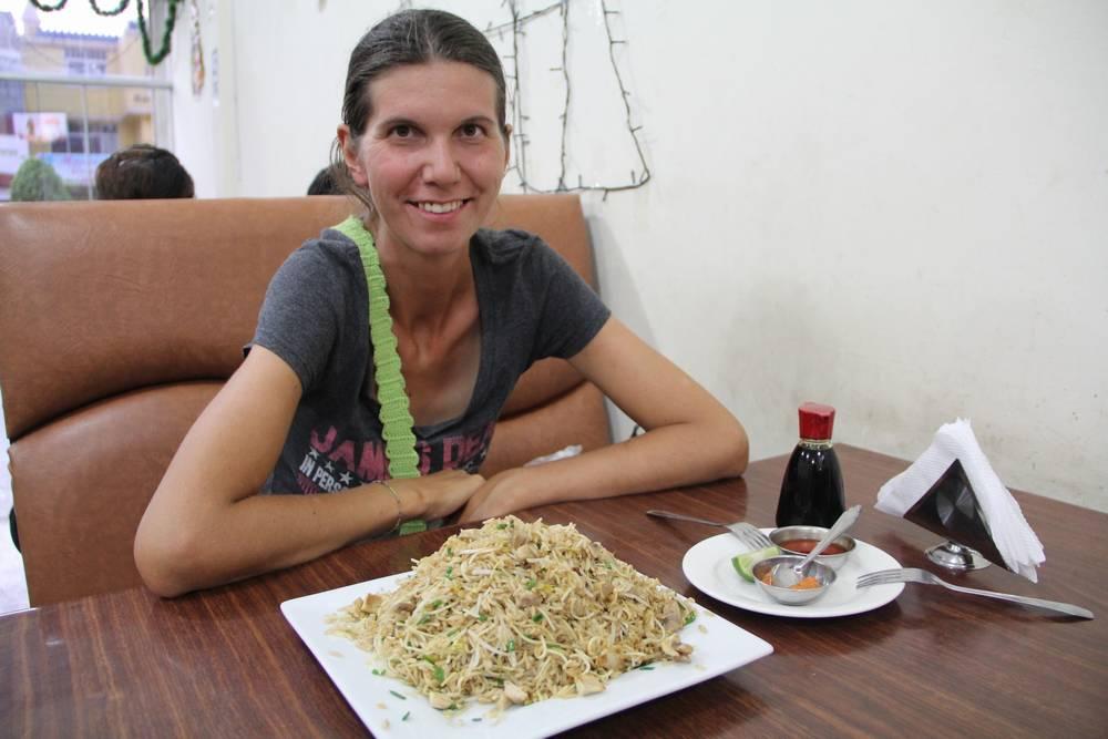 В китайском ресторане в Чиклайо, Перу