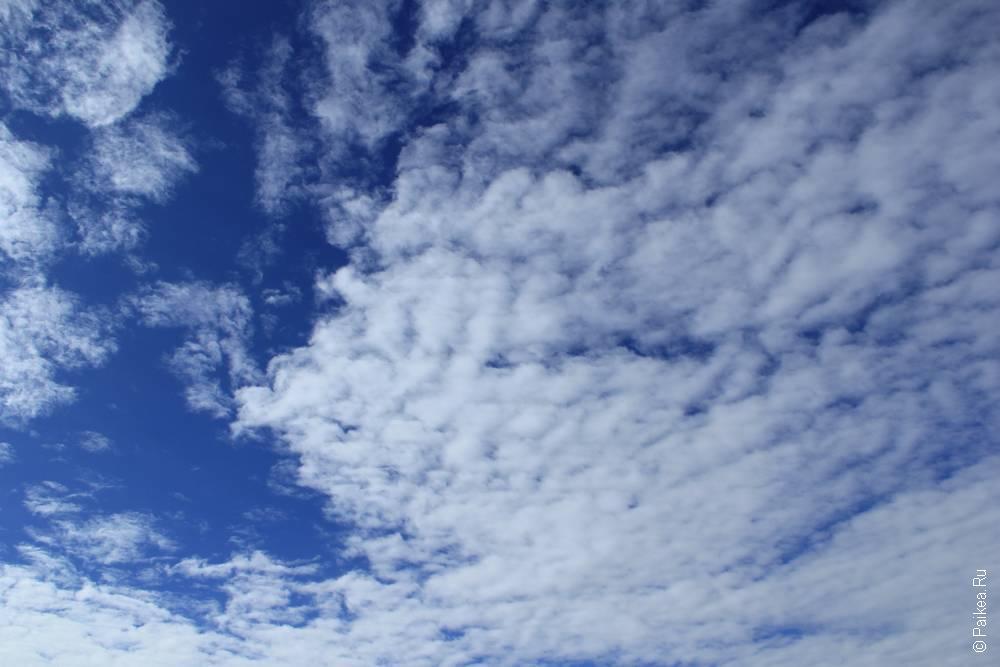 И небо