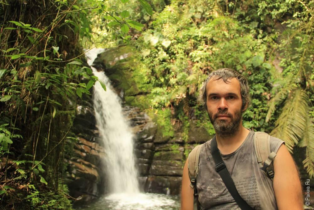 А вот и он, водопад Санта-Рита