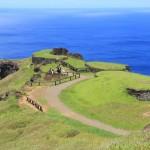 Деревня Оронго на кромке кратера Рано Кау