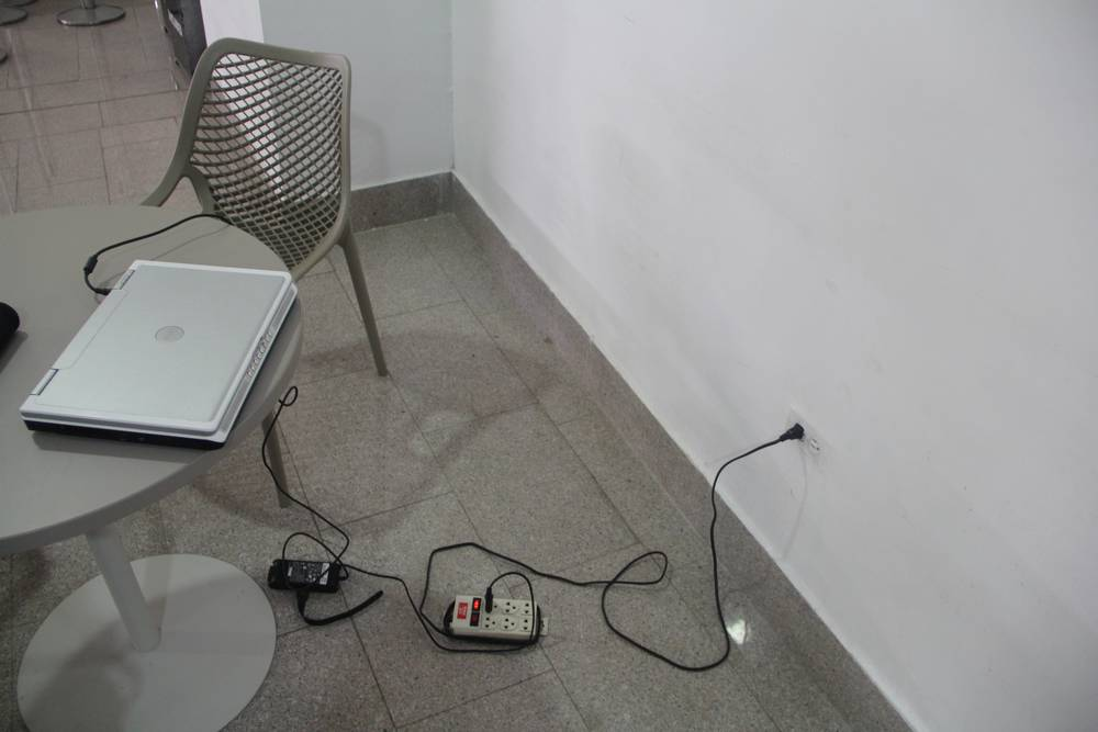 Удлинитель в аэропорту Картахены (Колумбия)