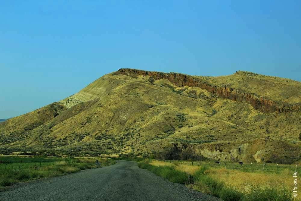 Дорога в Пейнтед хиллз