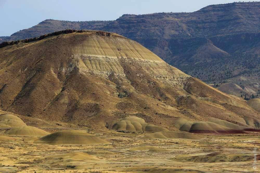 Древний холм в национальном парке