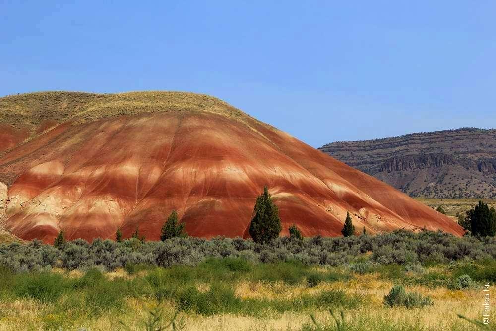 историческое прошлое планеты - цветной холм