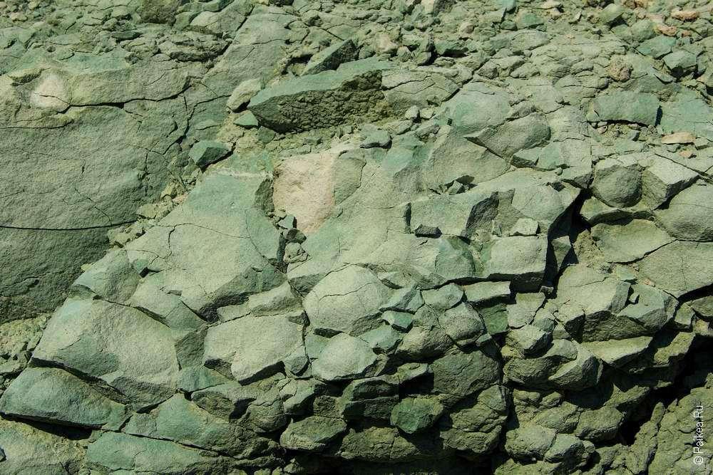 Состав голубой глины в США