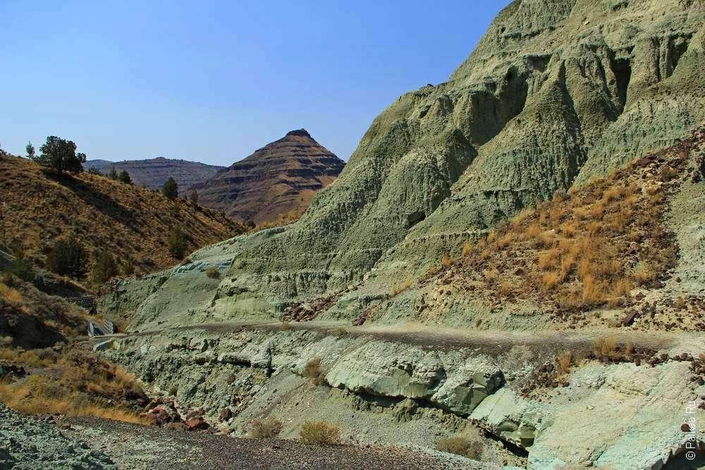 Блю Бейзин и пирамида в штате Орегон