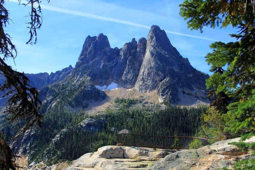 Горы в Америке очень красивы