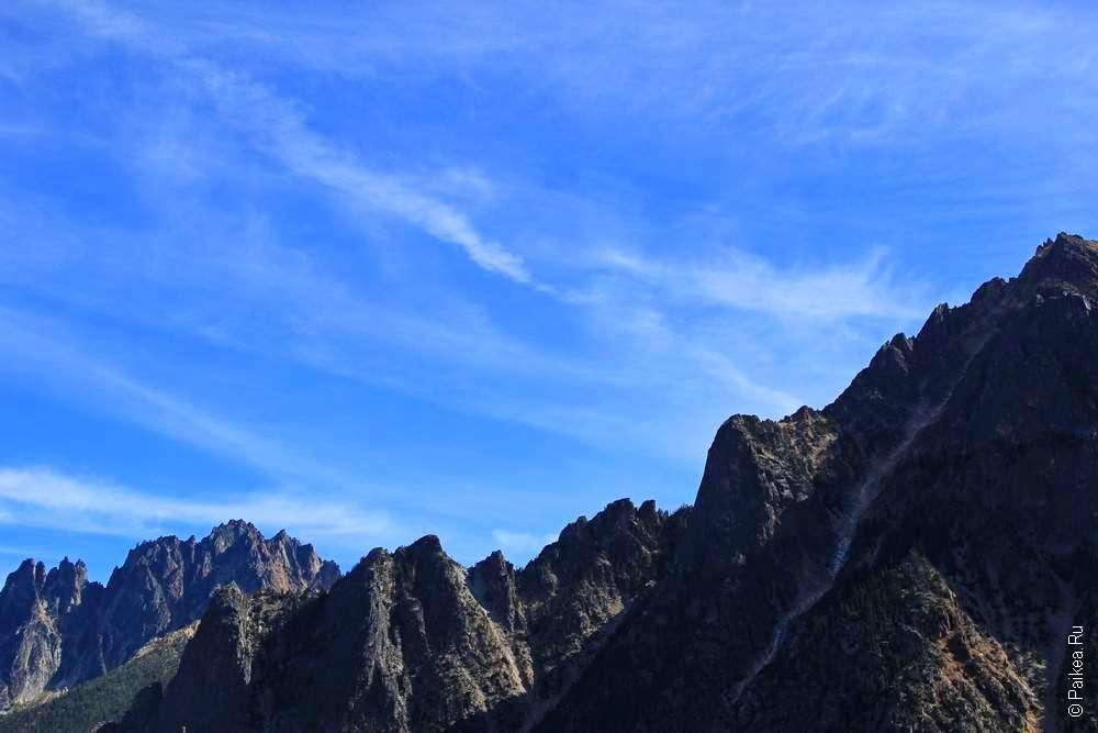 каскадные горы северной америки