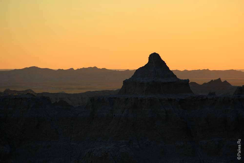 Рассвет на Кедровом перевале
