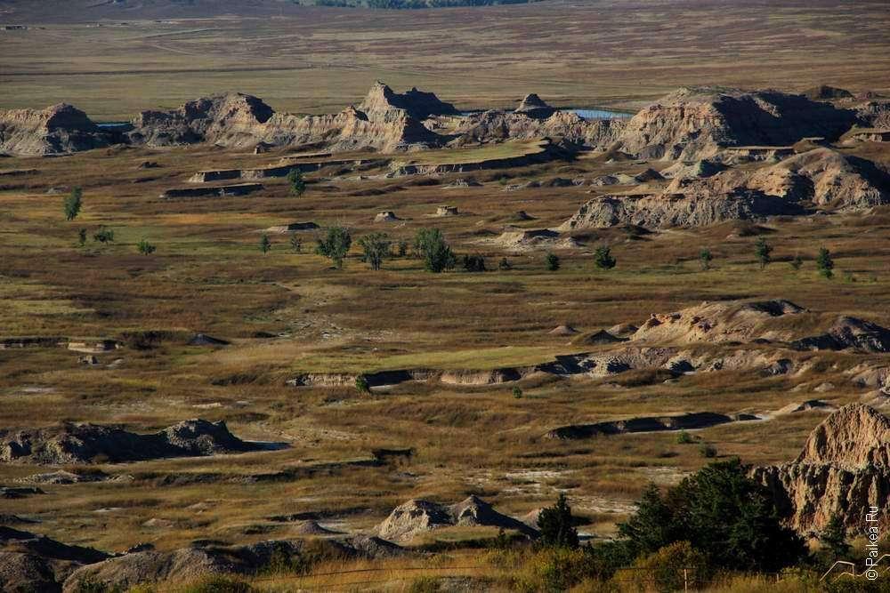 Бесплодные земли Южной Дакоты