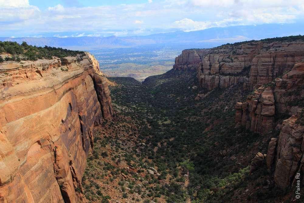 Красный каньон в Колорадо