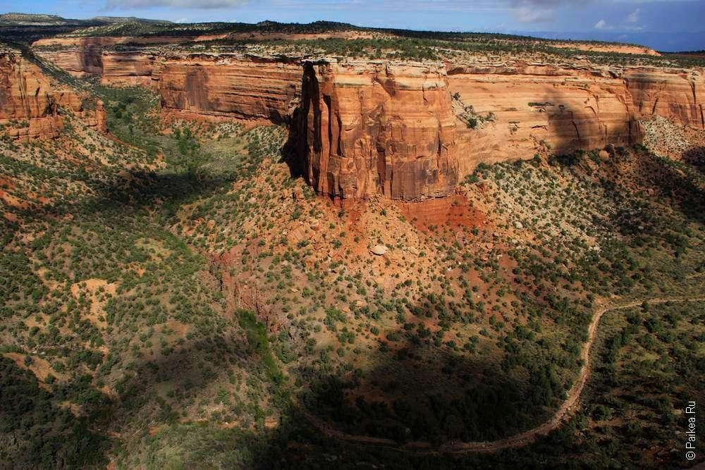 Изгиб каньона Уте