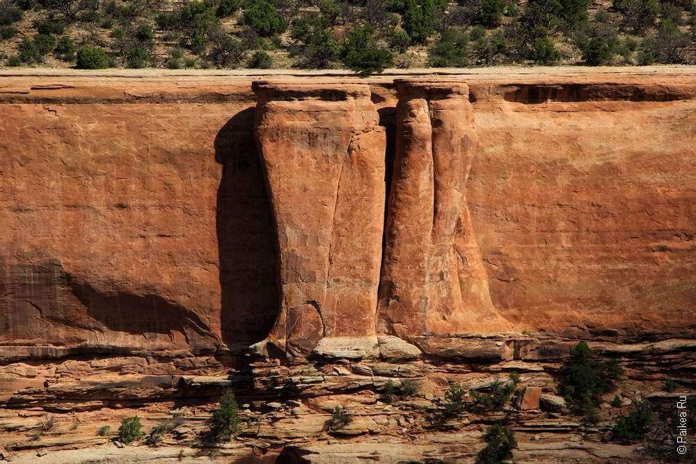 Стенка каньона Уте