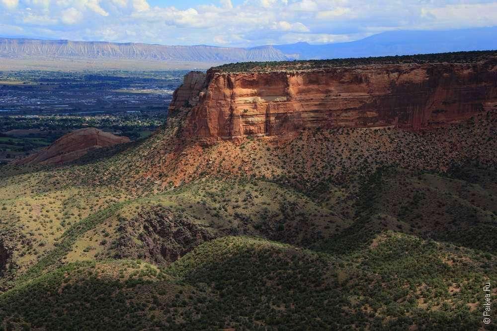 Каньон в Колорадо США
