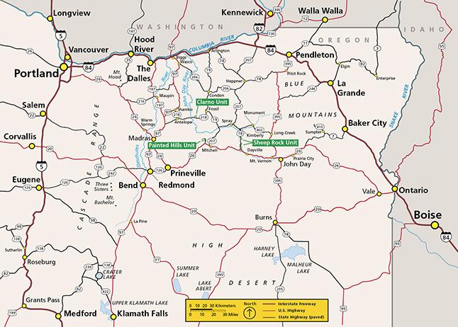 JODA Regional Map