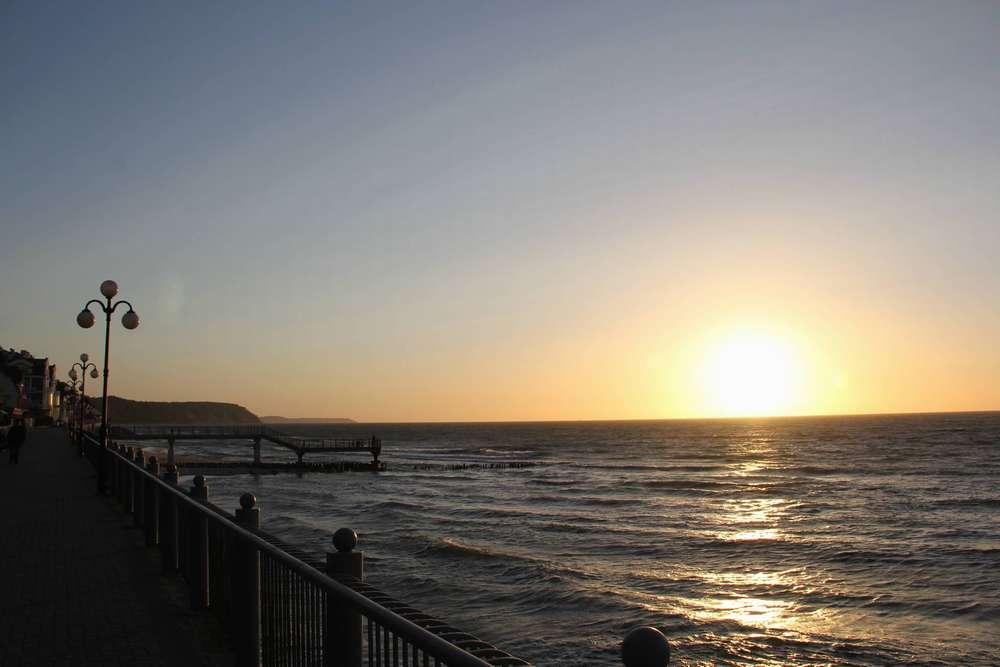 Светлогорск море