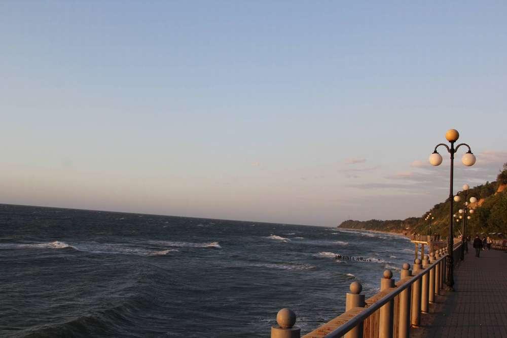 Светлогорск море фото