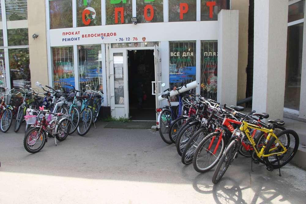 аренда велосипедов в зеленоградске