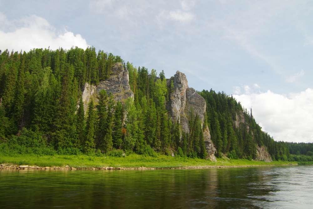 Река Печора в Коми
