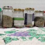 Мои баночки с разными травами