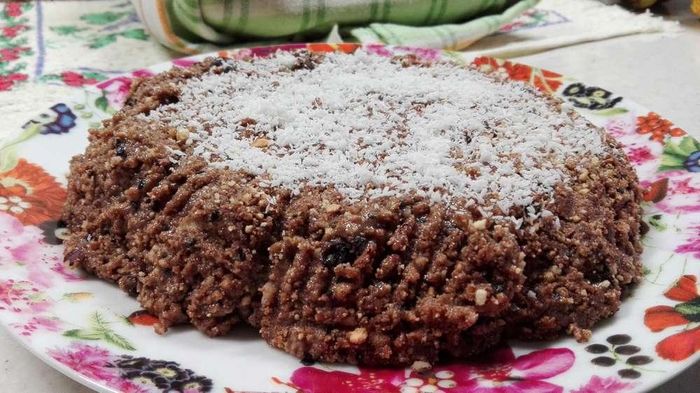 Домашний торт без выпечки