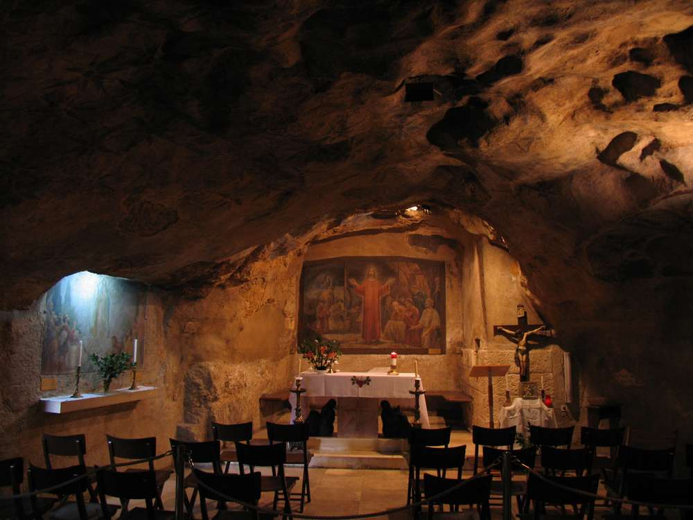 Гефсиманский грот (Gethsemane grotto)