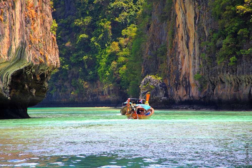 Лагуна Пилех Пхи-Пхи Таиланд